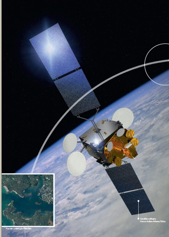 Musis-CSO, projet de constellation de satellites d'observation. © CNES/ill./DUCROS David, 2009 avid, 2009